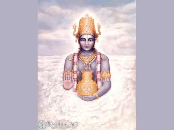 Dhanvantari - a encarnação do conhecimento médico