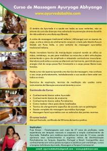 Curso de Massagem Ayuryoga