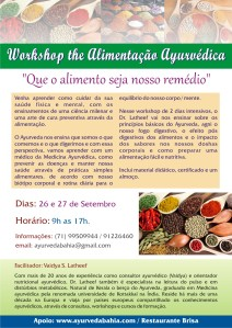Workshop de Alimentaçāo Ayurvédica