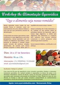 Workshop de Alimentaçāo Ayurvédica